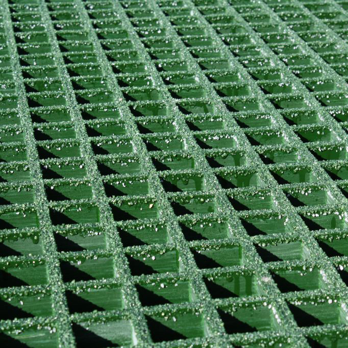 Green Molded Polyester Grating