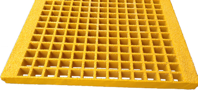 Yellow Molded Stair Treads