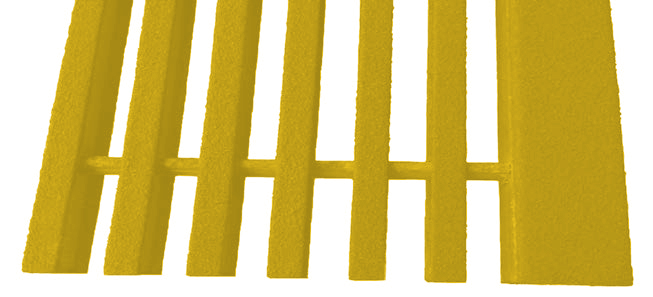 Yellow Pultruded Fiberglass Stair Treads