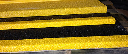 Fiberglass Stair Tread Cover